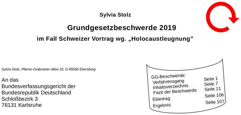 Bild für Blog GG Beschwerde 2019
